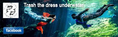 Logo Facebook - Sebi Messina . Underwater Trash The Dress